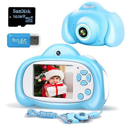 Tukanono Kids Digital Camera, Boys and Girls Selfie Photo Video Toy Camcorders, - Without Taking Kids Toys Asking