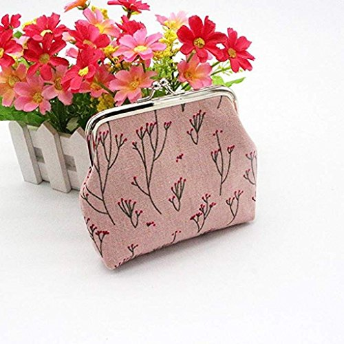 Wallets Women Clearance Mini Coin Bag Wallet Wallet Purse Noopvan Wallet Girls 2018 Women Clutch Pink Cool XaTXng6