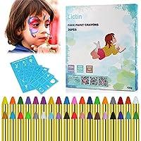 Lictin Pintura de Cara para Niños- 36 Colores