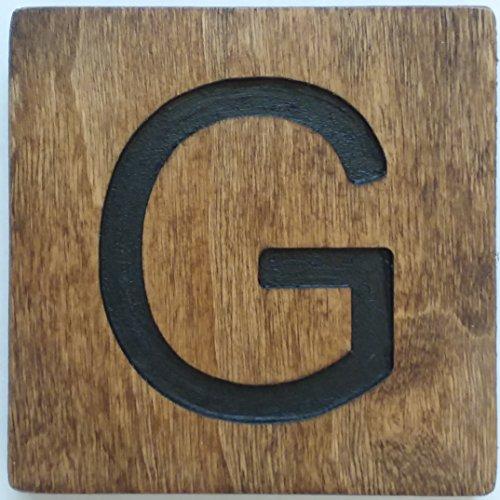 Large Crossword Letter Tile (G, 5 X 5 MEDIUM) (Scrabble Tiles Large)