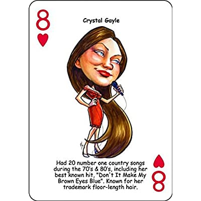 Hero Deck, COUNTRY MUSIC Legends, Playing Cards: Sports & Outdoors