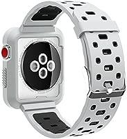 qihang para Apple Watch Pulsera 38 mm 42 mm, repuesto de ...