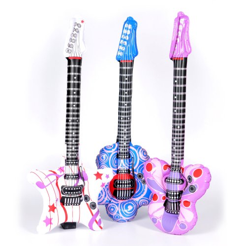 Inflatable Rock Star Guitars (1 dz)