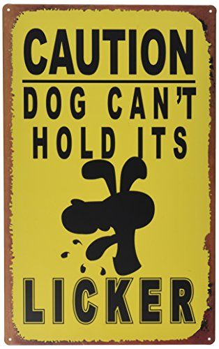 Ohio Wholesale Licker Caution Sign Wall Art, from our Humor Collection