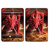 Diabloskinz Vinyl Adhesive Skin Decal Sticker for Apple iPad Mini - Dragons Lair