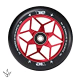 Envy Scooters Diamond Wheels 110mm (Pair) (Red)