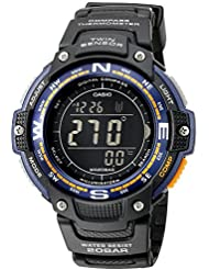 Casio Mens SGW-100-2BCF Twin Sensor Digital Display Quartz Black Watch