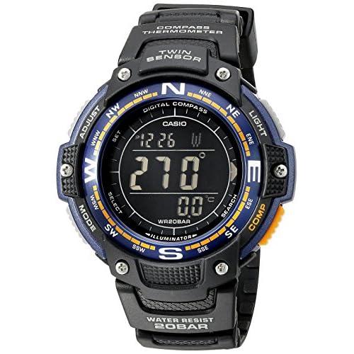 Casio Men's SGW-100-2BCF Twin Sensor Digital Display Quartz Black Watch