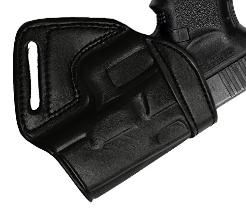 Tagua MBH-310 Middle Back Holster, Glock 19-23-32, Black, Right Hand (Best Small Of Back Holster For Glock 19)