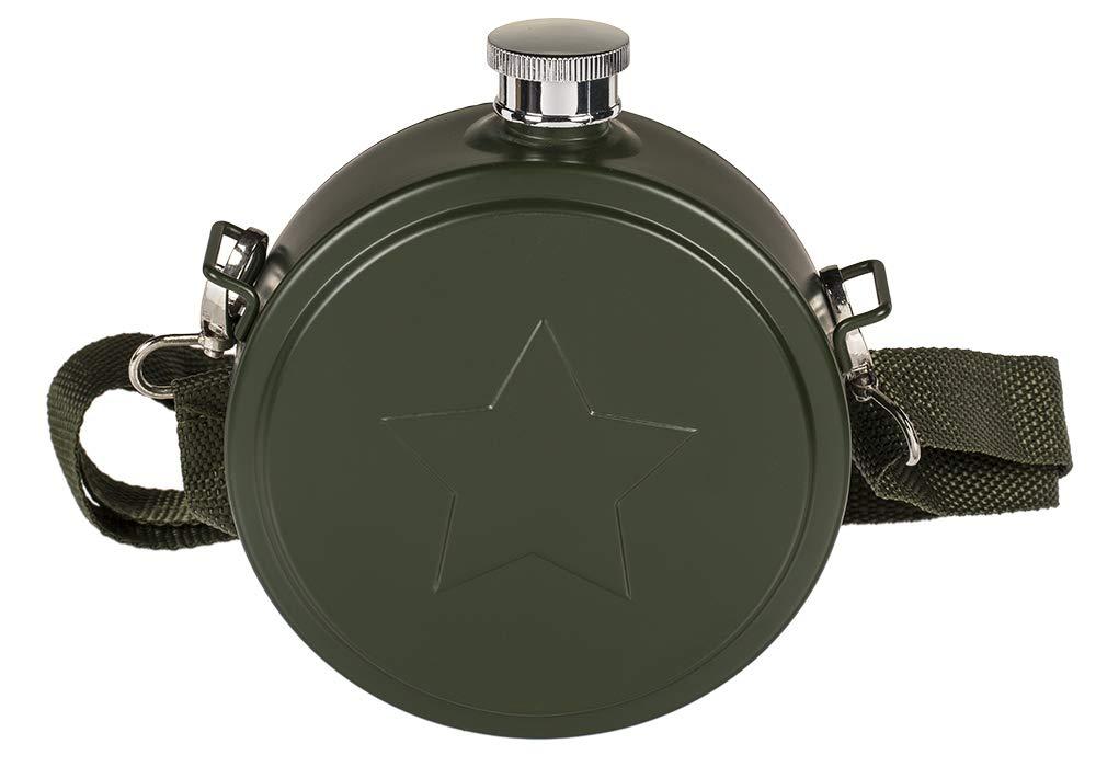 Compra OOTB 70/2983 Negro, Acero inoxidable bidón de agua en ...
