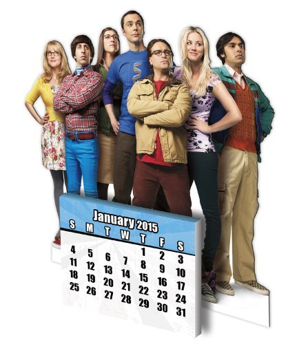 The Big Bang Theory 2015 Standee Calendar by Trends International (2014-08-01)