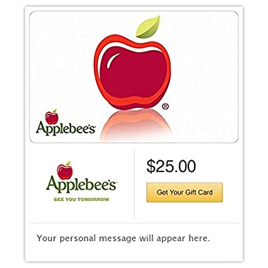 Applebee's Gift Cards - E-mail Delivery