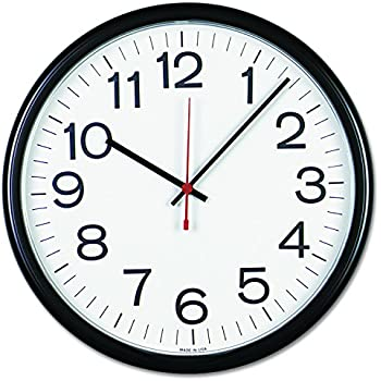 Amazon Com Bai School Wall Clock Black Home Amp Kitchen