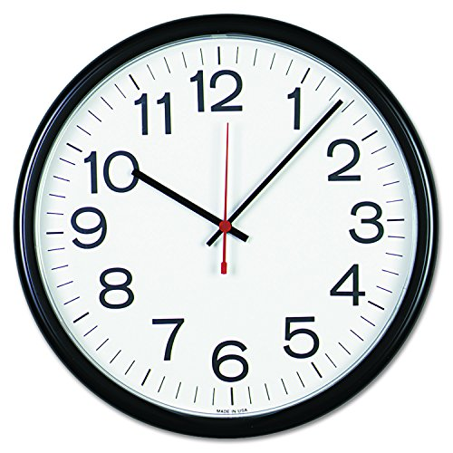 - Universal 11381 Indoor/Outdoor Clock, 13 1/2