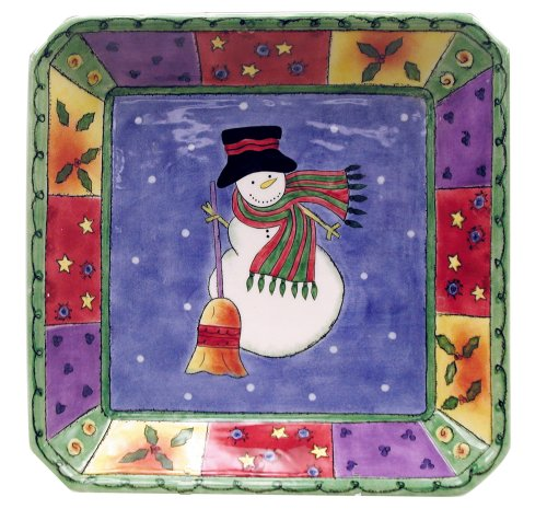 - Sango Sweet Shoppe Christmas Square Candy Dish