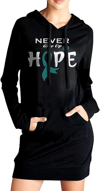 NVWEIYIJW Breast Cancer Awareness Pullover Hoodie Ladies Long Sleeve Tops Hooded Sweatshirts