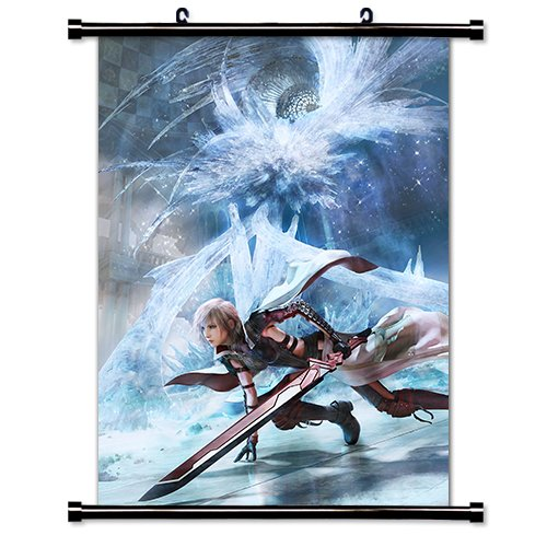 Lightning Returns - Final Fantasy XIII Game Fabric Wall Scro