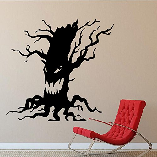 jufengliangyou Ghosts Wall Decals Halloween Decorations, Spooky Wall Stickers for Halloween Party Kids Home Room Décor (B)