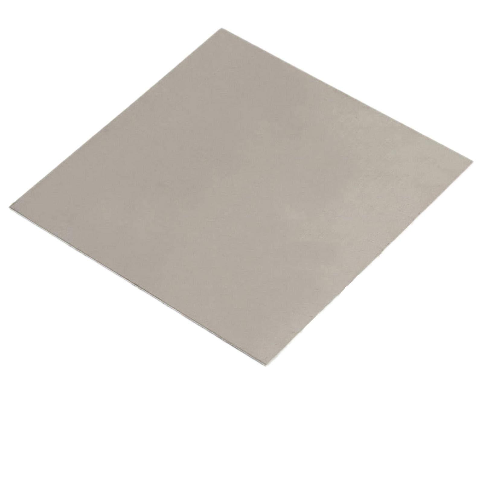 1.5mm x 200mm x 200mm Titanium Plate Ti Titan TC4 Gr5 Plate Sheet Foil by Yodaoke