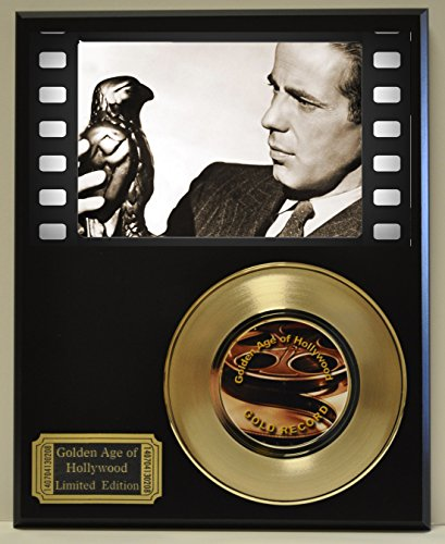 Maltese Falcon Limited Edition Gold 45 Record Display. Only 500 made. Limited quanities. FREE US SHIPPING
