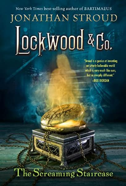 The Screaming Staircase Lockwood Co 1 Stroud Jonathan 9781423186922 Amazon Com Books
