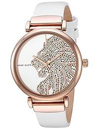 Anne Klein AK2950RGWT Reloj Análogo para Mujer, color Blanco
