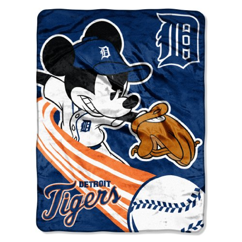 - The Northwest Company MLB Detroit Tigers 46x60-Inch Micro Raschel Throw