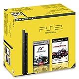 PlayStation 2 - PS2 Konsole, black inkl. Gran Turismo 4 + TouristTrophy Bundle