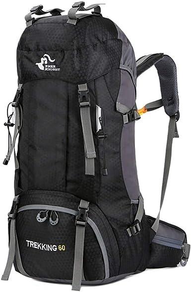60L Waterproof Outdoor Climbing Travel Large Backpack Camping Rucksack Bag Sport