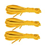 gold bar display case - 3 Pairs Shoelaces CaseHQ Flat Shoe Laces 52 inch Strings Flat Athletic Shoelaces Shoe Laces for Running Shoes Sports Shoes Sneakers Boots Skates Board Shoes Casual Shoes