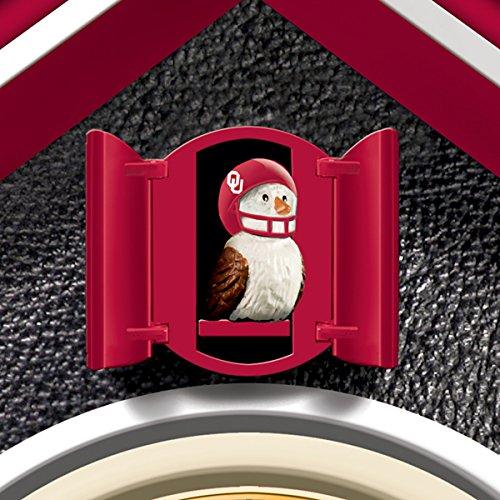University Of Oklahoma Sooners College Football Cuckoo Clock: Bradford Exchange by The Bradford Exchange by Bradford Exchange (Image #1)