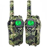 Easony Outdoor Camping Hunting Expedition Adventure Toys 3-12 Year Old Boys Girls, Walkie Talkies Kids Birthday Presents Gifts 3-12 Year Old Boys Girls Green ESUSTS01