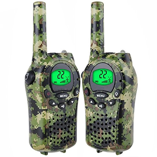 TOP Gift Toys for 3-12 Year Old Boys, Handheld Mini T-68 Walkie Talkie for Kids 3 Miles Range Best Gift Toys for 3-12 Year Old Girls Gifts for 3-12 Year Old Girls Boys Green TGUSMXD001 by TOP Gift