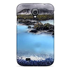 ZCLo3564 Case Cover Icel Lscape I Blue Lagoon Hdr Galaxy S4 Protective Case