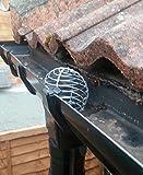 boule de gouttière filtre en acier galvanisé 60-75mm