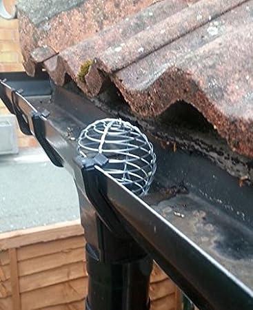 Dachrinnen Laubschutz laubfang laubschutz dachrinne laubfangsieb laubstop regenrinne 60