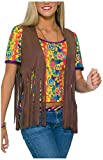 Forum Novelties Womens 60s Hippie Vest Costume Accessory