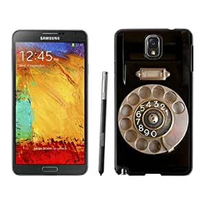 Retro Telephone Samsung Galaxy Note 3 Case Black Cell Phone Cover