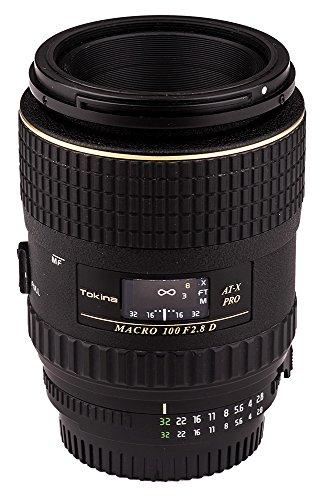 Tokina ATXAFM100PRON 100mm f/2.8 Pro D Macro Autofocus Lens for Nikon AF-D, - Nikon Mm Lens Macro 100