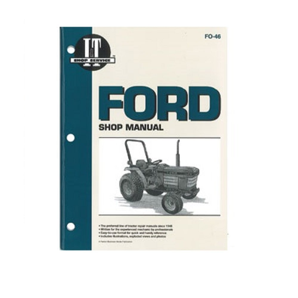 FO46 New Ford/New Holland Shop Manual 1120 1220 1320 1520 1720 1920 2120:  Amazon.com: Industrial & Scientific