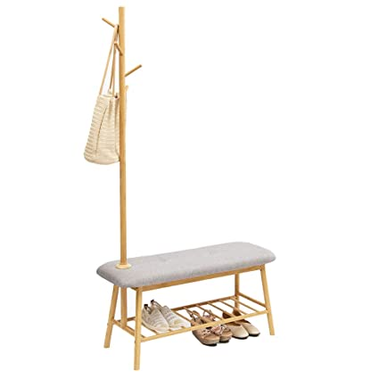 Astonishing Amazon Com Storage Benches Change Shoes Stool Coat Rack Pabps2019 Chair Design Images Pabps2019Com