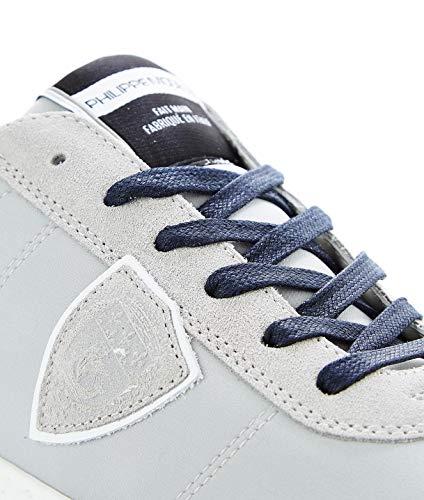 Uomo Sneakers Model Balutn01 Pelle Philippe Grigio EpqPBwxP5