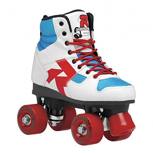 Roces 550039 Model Disco Palace Roller Skate, US 3M/5W, Red/White/Blue by Roces