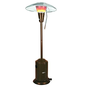 Great Mirage 38,200 BTU Bronze Heat Focusing Propane Gas Patio Heater