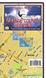 Franko Maps Orange County Surfing Map Waterproof Surfing Guide Orange County California Surf Map