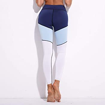 ADELINA Polainas De Las Mujeres Impresas Calzas Costura Yoga ...