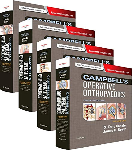 Campbell's Operative Orthopaedics: 4-Volume Set (Operative Techniques In Orthopaedic Surgery 4 Volume Set)