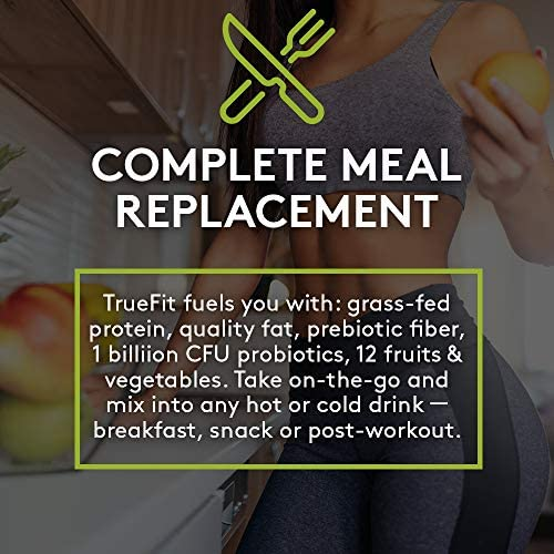 RSP TRUEFIT - Protein Powder Meal Replacement Shake, Grass-Fed, Organic Real Food, Probiotics, MCT Oil, Non-GMO, Gluten Free, No Artificial Sweeteners, 2 LB Chocolate 5