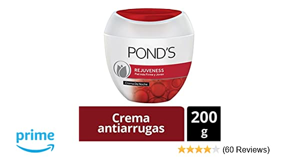Amazon.com : Ponds Rejuveness Anti-wrinkle Cream 7oz, Crema Ponds Rejuvecedora Contra-las Arrugas 200gr : Facial Moisturizers : Beauty