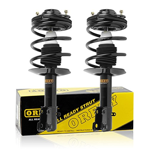 Complete Quick Struts Shock Coil Spring Assembly Kit for 1995-1999 Dodge Neon & Plymouth Neon (Dodge Neon Shock Absorber)